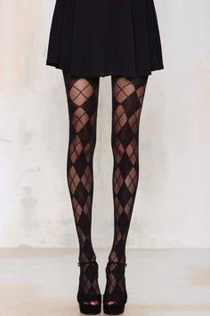 Parker Argyle Tights - Accessories | Socks + Legwear | Get Discovered