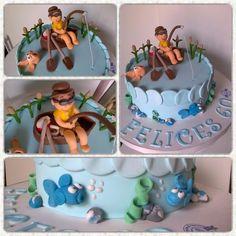 Torta #cake con #temática de #pesca #pescador para #cumpleaños . #gracias Carolina por elegirnos #felicidades !! #Pedidos al #whatsapp 1132854134 o  #tortasycupcakesbakery gmail.com #pastelería de #diseño #cupcakes #cookies #postres #cakepops #mesadulce #candybar #bakery #bsas #caba #baires #buenosaires #argentina #quilmescity #quilmes