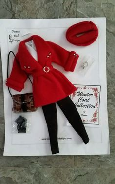 Donna's Doll Designs Winter Coat Collection 2014 New Barbie Silkstone Vintage  #ClothingShoes