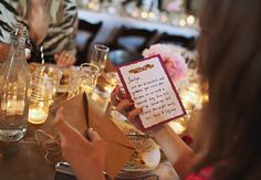 Would You Give Your Guests a Handwritten Favor like Savannah Guthrie Did? - Yahoo Shine