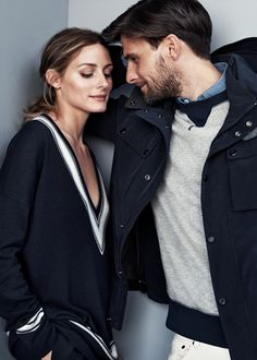 Ace stylish couple-dressing this summer with @therealoliviap and Johannes Huebl