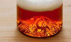 The Washington Pint Glass Has a Little Mt. Rainier on the Bottom   Cool Material