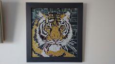 Tigre em vidro
