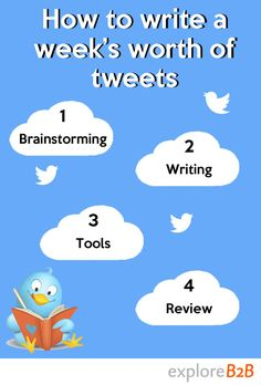 Want to create business content for #Twitter? These 4 simple steps show you how. #socialmedia #exploreb2b