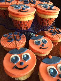 Syracuse Logo, Syracuse University, Sprinkle Cupcakes, Candy Sprinkles, Graduation Ideas, Treats, Orange, Usa, Fall