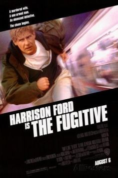 The Fugitive (1993) Film Movie, Film D'action, Bon Film, Harrison Ford, Cinema Tv, Films Cinema, Best Action Movies, Great Movies, Action Films