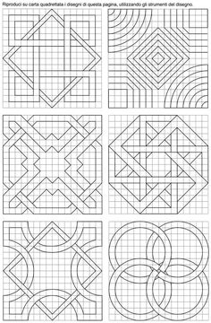 Latest Trend In Embroidery on Paper Ideas. Phenomenal Embroidery on Paper Ideas. Geometric Patterns, Islamic Patterns, Geometric Designs, Motifs Blackwork, Blackwork Embroidery, Paper Embroidery, Embroidery Patterns, Graph Paper Drawings, Graph Paper Art