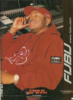 LL Cool J in FUBU  F as in Frank Vintage. (n.d.). FUBU. Retrieved on April 2, 2017 from https://fasinfrankvintage.com/search?page=2&q=fubu&type=product
