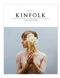 Floral Scoops (Series) by Parker Fitzgerald for Kinfolk Vol. Book Design, Cover Design, Web Design, Graphic Design, Print Design, Editorial Layout, Editorial Design, Magazine Kinfolk, Poster