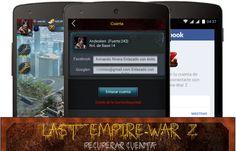 Pasos para recuperar una cuenta de Last Empire-War Z #lastempirewarz #juegosandroid