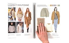 peclers KNITWEAR TREND BOOK FALL WINTER 14-15