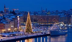 Celebrating 2014 New Years Eve in Stockholm Sweden