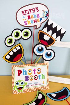 Little Monsters Baby Shower Party Ideas | Photo 1 of 21 | Catch My Party