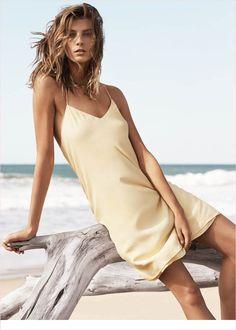 mango summer 2014 daria werbowy photos4 Daria Werbowy Hits the Beach in Mangos Summer 2014 Catalogue