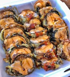 If you comment a description of the best sushi roll you've ever had, I'll comment my personal opinion as a rating out of ❤️🍣 📸 - — 🏷 Sushi Recipes, Raw Food Recipes, Asian Recipes, Healthy Recipes, I Love Food, Good Food, Yummy Food, Homemade Sushi, Food Goals