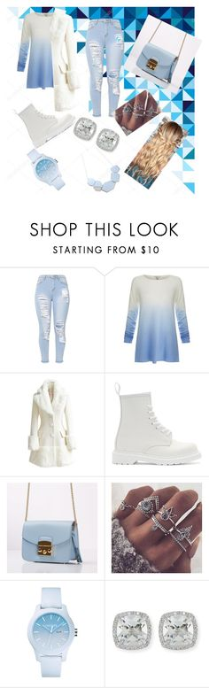 """Winter Wonderland"" by dreona ❤ liked on Polyvore featuring Joie, WithChic, Dr. Martens, Lacoste and Frederic Sage"