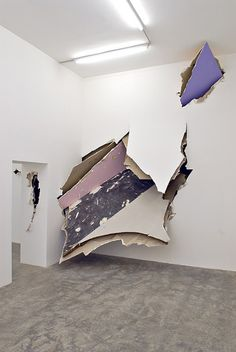 Felix Schramm's Installation. pared rota