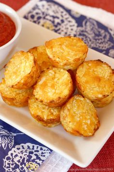 Baked Cauli-Tots Cabot Cheese Recipe