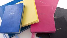 Smythson.. the datebook to carry. none of this high tech nonsense