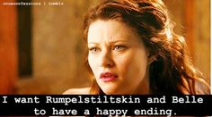 Yes! After all they've been through! Love Rumplestilkskin and Belle together! <3  #Rumbelle #OUaT