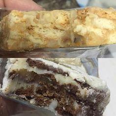 Palha italiana gourmet sabores castanha com amendoim polvilhada com paçoquinha e ninho com Nutella! Muito bom