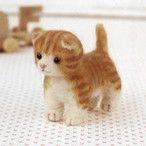 羊毛フェルト猫★わんぱくアメショーくん テディタイプ(ヤフオク!(ヤフーオークション))は35件の入札を集めて、2015/05/13 23:24に落札されました。
