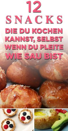 12 günstige Snacks, die Dich am Monatsende retten - Expolore the best and the special ideas about Budget cooking Clean Eating Fish, Clean Eating Vegetarian, Clean Eating Recipes, Frugal Meals, Budget Meals, Easy Meals, Budget Recipes, Meals For Four, Large Family Meals