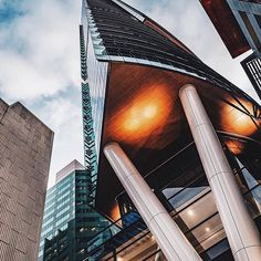 looking up at the iron giants of brsbane narrowly avoiding the clouds 🏙 perfectly captured by can anyone guess the location of this masterpiece ? Brisbane Cbd, The Iron Giant, Spring Hill, Looking Up, Skyscraper, Clouds, Canning, City, Instagram