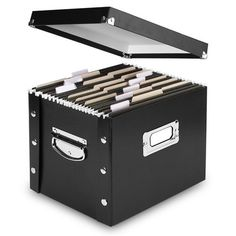 Snap N Store Storage Box, Letter, 13 3/8 x 9 3/4 x 10 3/4, Black Snap-N-Store £12.99 http://www.amazon.co.uk/dp/B001TQDW0Y/ref=cm_sw_r_pi_dp_KH-jvb1YEW9NV