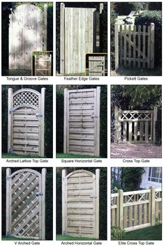 garden gates and fences | ... gates feather edge gates pickett gates decorative gates iron gates #decorativegardenfence