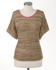 Shimmering sand sweater