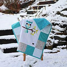 zuzug / Detská deka so sovičkou