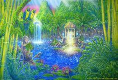 """Spirits of Iao Falls""  by John Lawton Cullison, Jr."