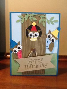 Birthday card  I cased  for my grandson