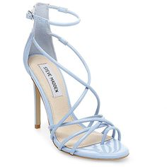 2b6e982c39 light blue heels · Steve Madden Women's Satya Stilettos Heels ($90) ❤ liked  on Polyvore featuring shoes,