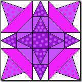 """Party Stars (Quilter's Cache - 10"""")"""