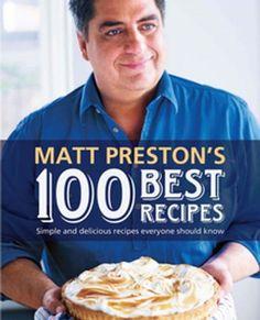 Matt Preston's 100 beste recepten, MasterChef Australia Master Chef, New Recipes, Cooking Recipes, Favorite Recipes, Fall Recipes, Masterchef Recipes, Masterchef Australia, Good Food, Gastronomia