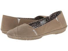 5486970af Crocs angeline flat khaki khaki at 6pm.com