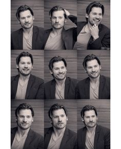 Not going to lie, he's one of the reasons I watch Game of Thrones. I think it's the hair. (Nikolaj Coster-Waldau)