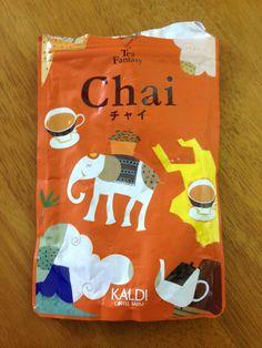 Kaldi Coffee Farm Chai Tea Mix - drank with fresh cut cinnamon sticks and finished within a week <3