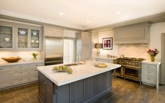 Georgian Revival - traditional - kitchen - boston - Cassia Wyner, CW Design
