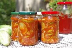 Pickles, Cucumber, Salsa, Mason Jars, Cooking, Food, Kitchen, Essen, Mason Jar