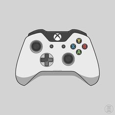 xbox 360 controller sketch - photo #2