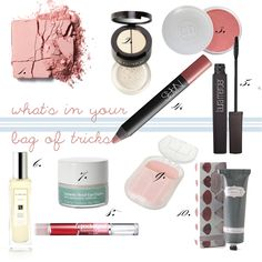 a few fabulous must-haves in your everyday 'bag of tricks'!