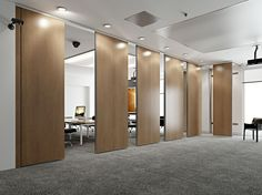 ROLLING WALL Parete manovrabile by Arcadia Componibili - Gruppo Penta