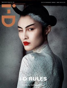 i-D Magazine rules Was in the face too #iD #theface