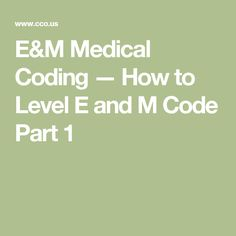 How to Level E and M Code? I code all diagnosis codes and add the appropriate modifiers. Would it be possible to briefly go over your E&M leveling tool? Medical Coding Classes, Medical Billing And Coding, Medical Terminology, Cpc Certification, Medical Coding Certification, Coding Jobs, Coding For Beginners, Exams Tips, Finance Jobs