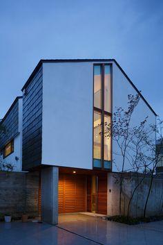 建築家 河口佳介+K2-DESIGNとつくる注文住宅 | ブラザー不動産株式会社 Japanese Style House, Villa Design, House Plans, Layout, Exterior, Interior Design, Architecture, Life, Inspiration