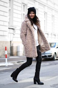 Outfit | The Teddy Coat