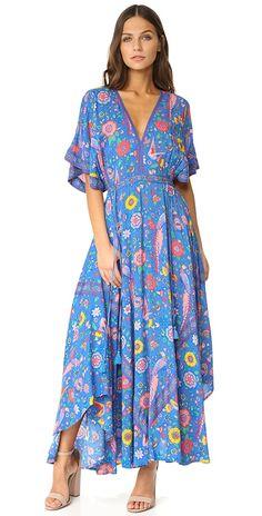 SPELL Lovebird Half Moon Gown   SHOPBOP
